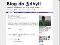Blog do @dhyll - O primeiro em Mídias Sociais no Cariri | Consultor SEO – Search Engine Optimization | Marketing Digital no Cariri – Juazeiro do Norte | Esporte | Mídias Sociais | Redes Sociais | http://adrianosoares.com