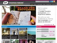 Backpackforever.com - Backpack Forever - Get paid while traveling