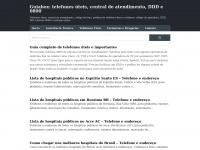 Guiabox: telefones úteis, central de atendimento, DDD e 0800