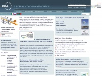 European-coaching-association.de - EUROPEAN COACHING ASSOCIATION - Startseite