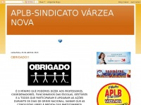 Aplbvarzeanova.blogspot.com - APLB-SINDICATO VÁRZEA NOVA