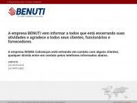Benuti.com.br - Benuti - Comércio e Representação
