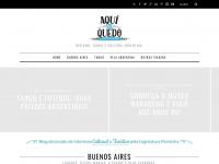 Aquimequedo.com.br - Aquí Me Quedo Buenos Aires | tango e cultura argentina