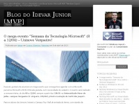 "Blog do Idevar Junior [MVP] | Blog sobre Windows – Dicas e Novidades com Idevar Junior, Microsoft MVP ""Windows and Devices for IT"""