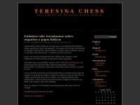Teresina Chess | Escrevendo de Teresina sobre Xadrez