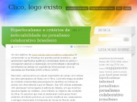 Clico, logo existo | Pitadas de jornalismo e internet
