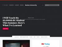Bu.edu - Homepage | Boston University