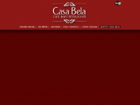 casabelarestaurante.com.br