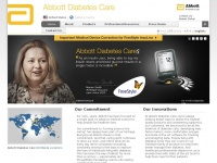 Abbottdiabetescare.com - Abbott Diabetes Care Division - Global leader in diabetes care
