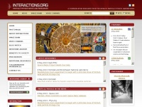 Interactions.org - Particle physics, high energy physics, news and resources