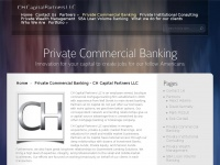 Ch-capital.com - Home - CH Capital Partners LLC