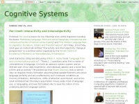 Cogsys.blogspot.com - Cognitive Systems