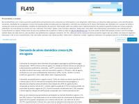 FL410 | Voando alto!