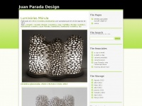 Juan Parada Design | Just another WordPress.com weblog