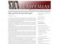 BLASFÉMIAS   A Blasfémia é a melhor defesa contra o estado geral de bovinidade