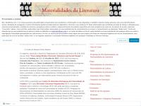 Materialidades da Literatura | Programa de Doutoramento