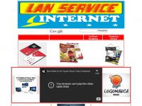 LAN SERVICE -  LAN HOUSE - CARTÕES DE VISITAS - PANFLETOS
