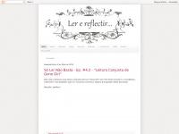 Lerreflectir.net - Ler e reflectir...