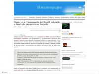 Homeopapo | Homeopatia a conta-gotas