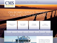 Cmsmaritime.com - CMS Maritime. On-board service training for the yacht industry.