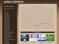 Poker-jatekok.jatekok8.hu - Póker játékok