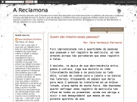 Areclamona.blogspot.com - A Reclamona