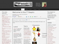 Itskeptic.org - The IT Skeptic | A sceptical view of IT: ITIL, CMDB, governance and whatever else catches my eye