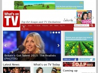 Whatsontv.co.uk - TV guide to top UK TV and soap spoilers | What's on TV