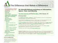 Dtmd.org.uk - The Difference That Makes a Difference Research Group