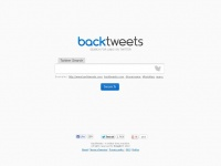 Backtweets.com - Twitter Search — BackTweets
