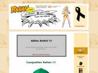 Rahan.org, le site du fils des âges farouches