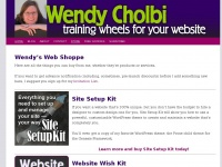Wendycholbi.com - WordPress services and more from Wendy Cholbi