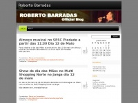 Barradas.wordpress.com - Roberto Barradas | Singer