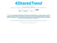 4sharedtrend.com - 4shared search, 4shared search engine - Direct download links from 4shared.com