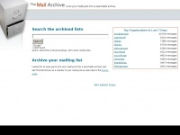Mail-archive.com - The Mail Archive