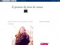 a-procura-da-terradonunca.blogspot.com