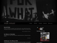 Forwhat.com.br - FOR WHAT :: HARDCORE
