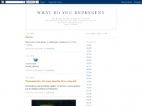 Whatdoyourepresent.blogspot.de - what do you represent