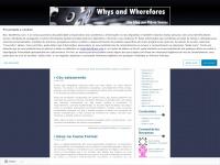 whysandwherefores.wordpress.com