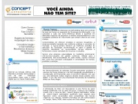 Desenvolvimento site e-mail marketing mecanismos de busca Porto Alegre | Concept Consultoria em Informática