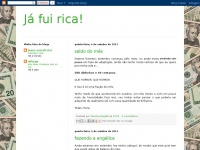 Jafuirica.blogspot.com - Já fui rica!