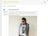 She Calls me Mary | – but i'm not