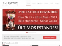 4º BH TATTOO CONVENTION: 25, 26 e 27 de Abril · 2014