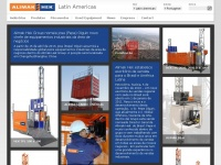 Alimakhek.com.br - Latin America Alimak Hek Rack and Pinion construction and industrial elevators