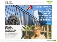 Elfac.org - European Large Families Confederation | Elfac