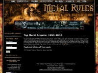 Metal-Rules.com – Promoting REAL Metal Online Since 1995!