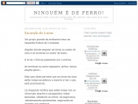 ninguemedeferro.blogspot.com