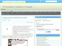 Hodownload.blogspot.com - Ho Download - Downloads e Tecnologia