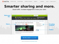 Addthis.com - Get more likes, shares and follows with free website tools - AddThis