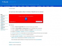 Truecrypt.org - TrueCrypt - Free Open-Source On-The-Fly Disk Encryption Software for Windows 7/Vista/XP, Mac OS X and Linux